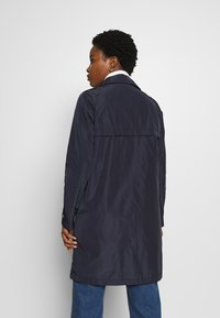 Marc O'Polo - COAT TURN DOWN COLLAR DETACHABLE HOOD PRESSBUTTONS FRONT - Parka - night sky - 3