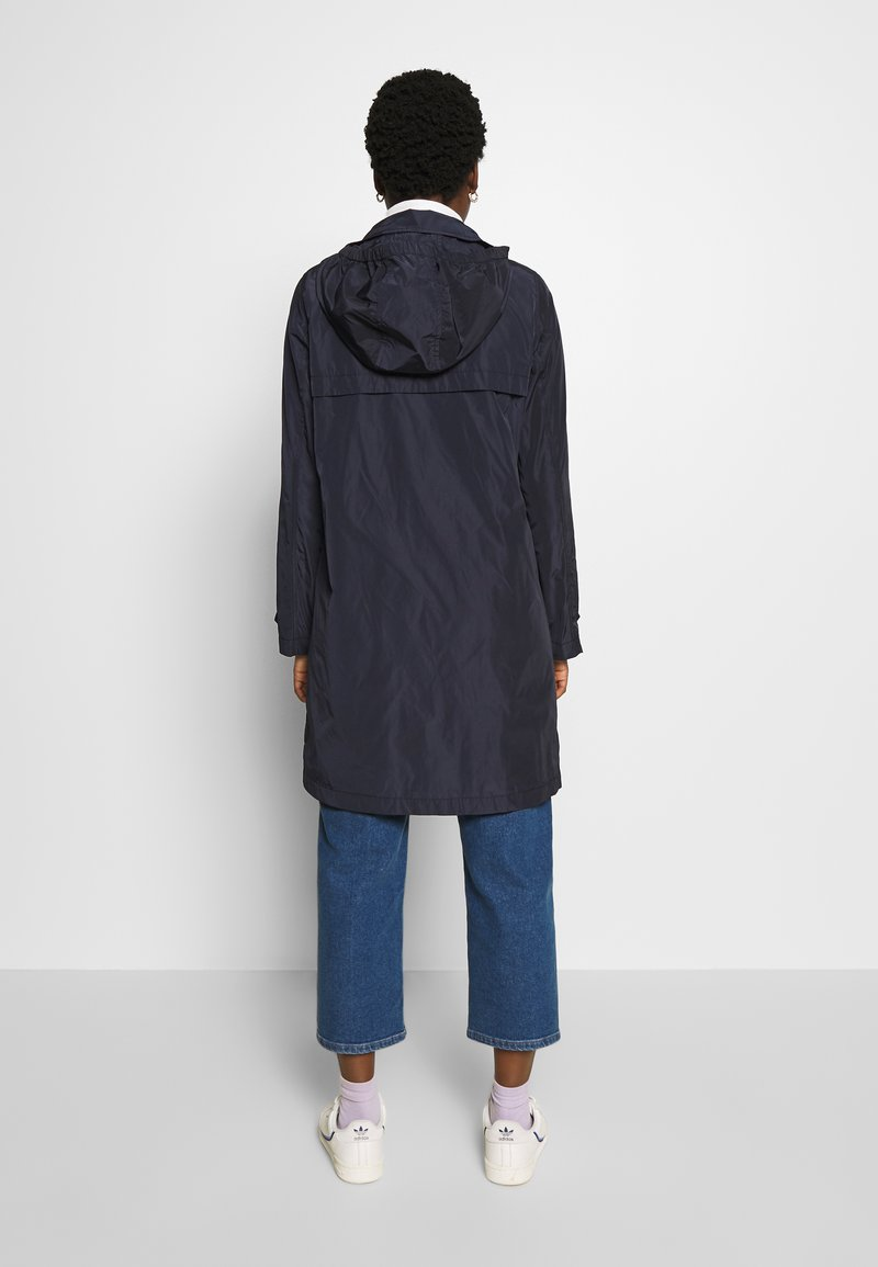 Marc O'Polo COAT TURN DOWN COLLAR DETACHABLE HOOD PRESSBUTTONS FRONT - Parka - night sky