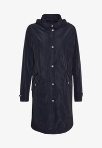 Marc O'Polo - COAT TURN DOWN COLLAR DETACHABLE HOOD PRESSBUTTONS FRONT - Parka - night sky - 6