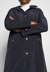 Marc O'Polo - COAT TURN DOWN COLLAR DETACHABLE HOOD PRESSBUTTONS FRONT - Parka - night sky - 4