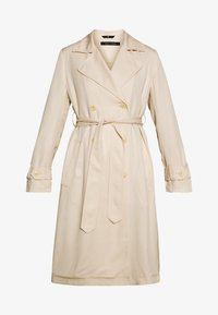 Marc O'Polo - TRENCH COAT DOUBLE BREASTED BELTED WELT POCKETS - Trenchcoat - raw sand - 4