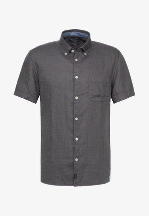 Camicia - gray pinstripe