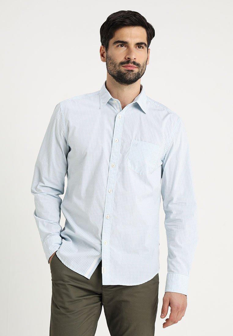 Marc O'Polo - KENT COLLAR LONG SLEEVE ONE CHEST - Shirt - light blue