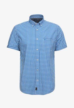 BUTTON DOWN SHORT SLEEVE - Skjorte - light blue