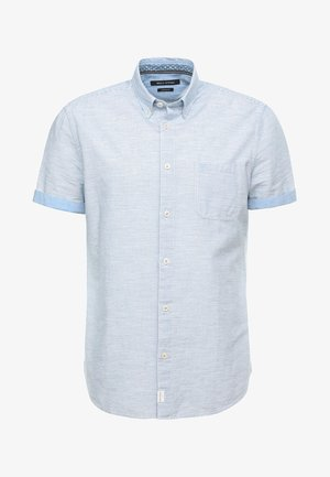 BUTTON DOWN SHORT SLEEVE ONE CHEST - Chemise - blue