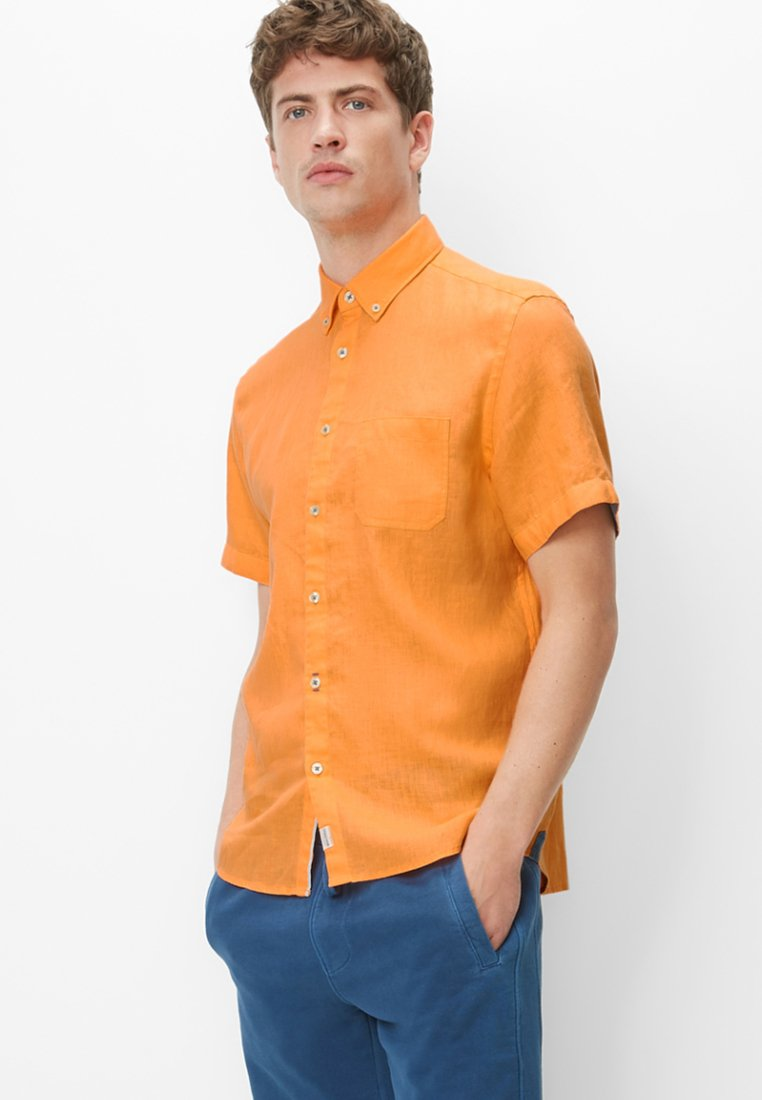 Marc O'Polo - KURZARM-HEMD - Hemd - orange