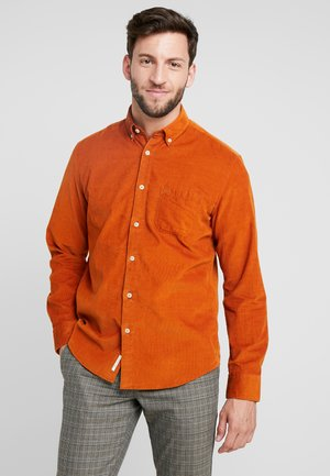 Shirt - leather brown
