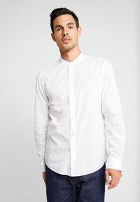 Marc O'Polo - BAND COLLAR - Kostymskjorta - white - 0