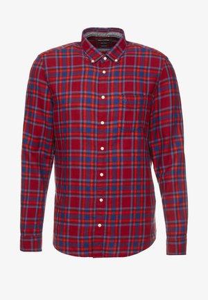 Overhemd - dark red/blue