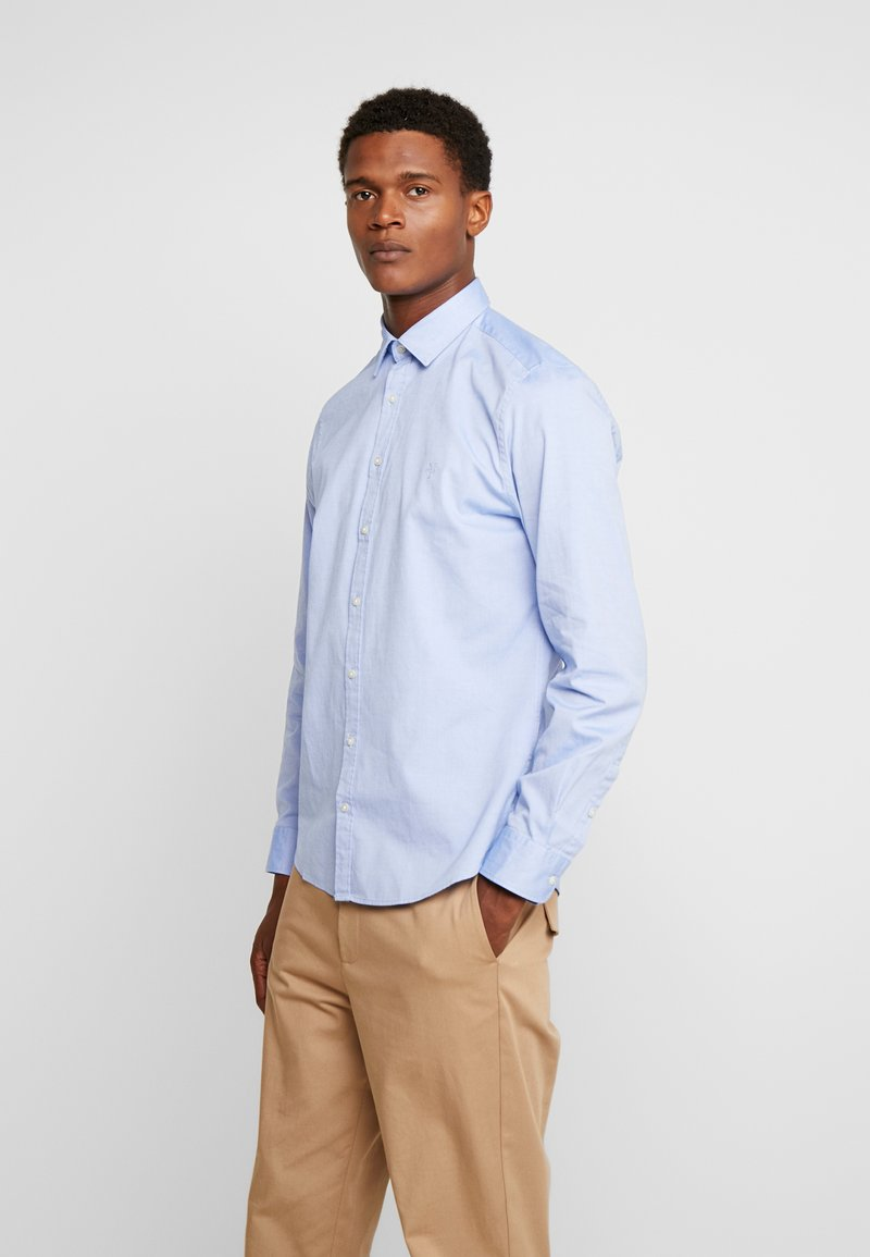 Marc O'Polo - CAMBRIDGE SHAPED FIT KENT COLLAR - Shirt - combo
