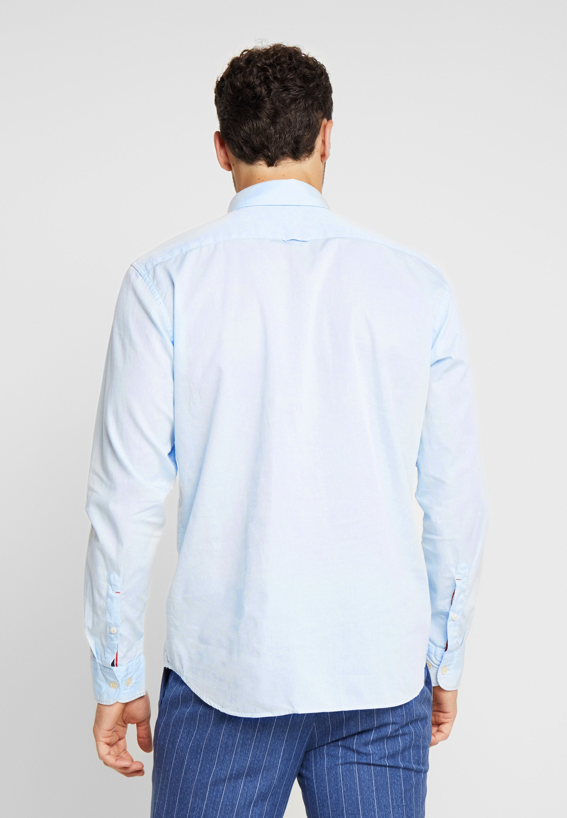Marc Airblue Fine Bedford Garment DyedCamicia O'polo wknO80PX