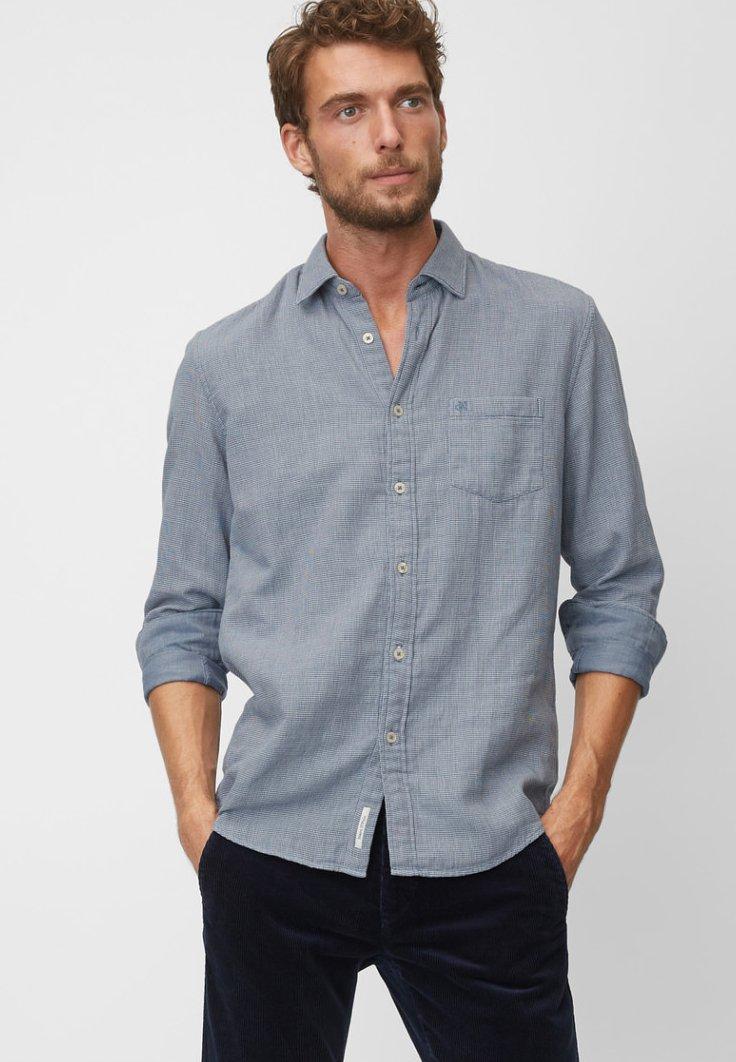 Marc O'Polo - REGULAR - Shirt - blue