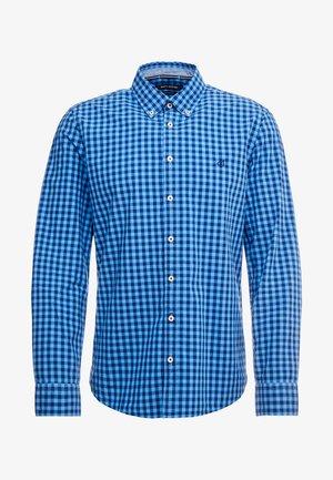 BUTTON DOWN LONG SLEEVE INSERTED - Košile - blue