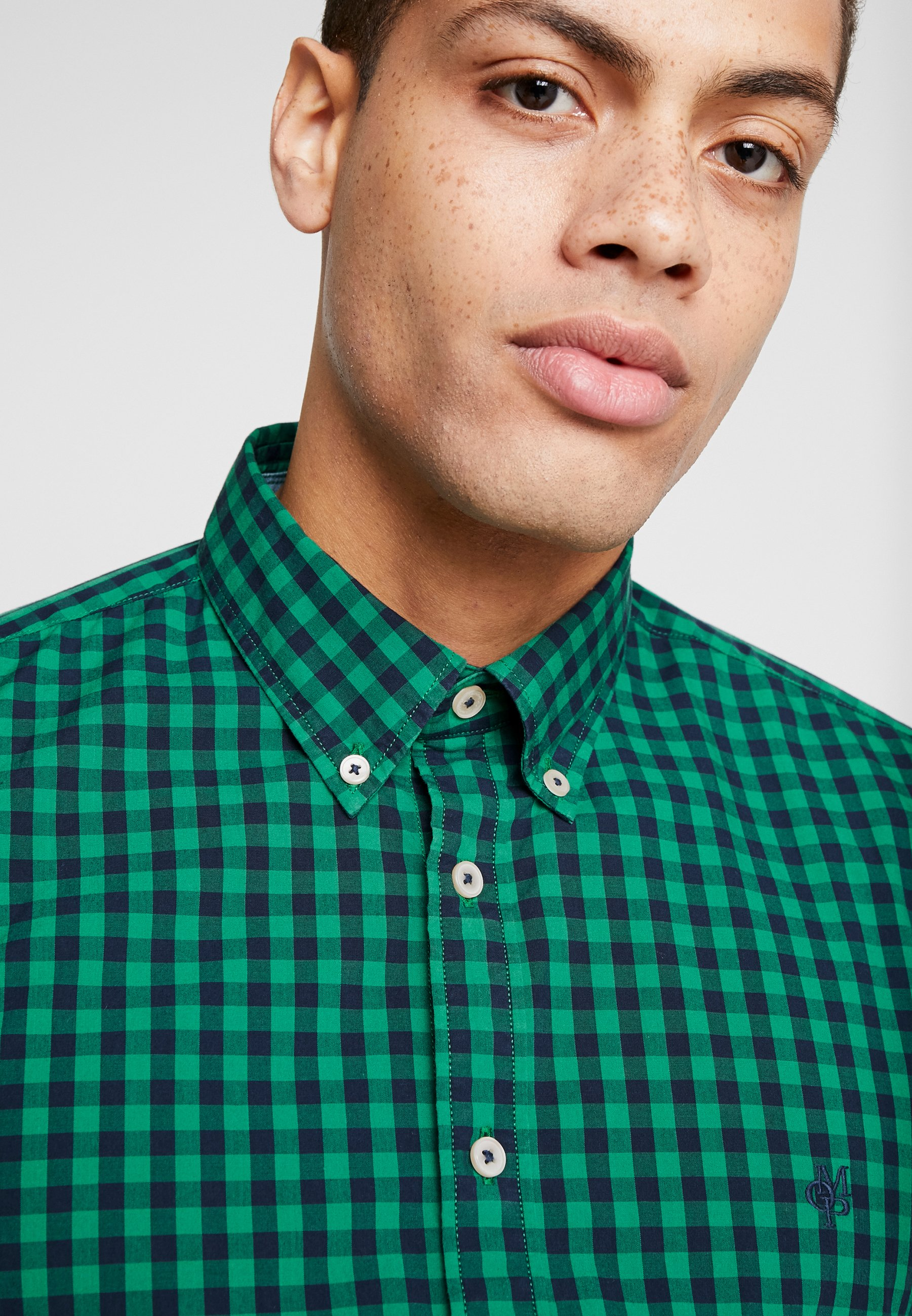 Marc O'Polo BUTTON DOWN LONG SLEEVE INSERTED - Hemd combo