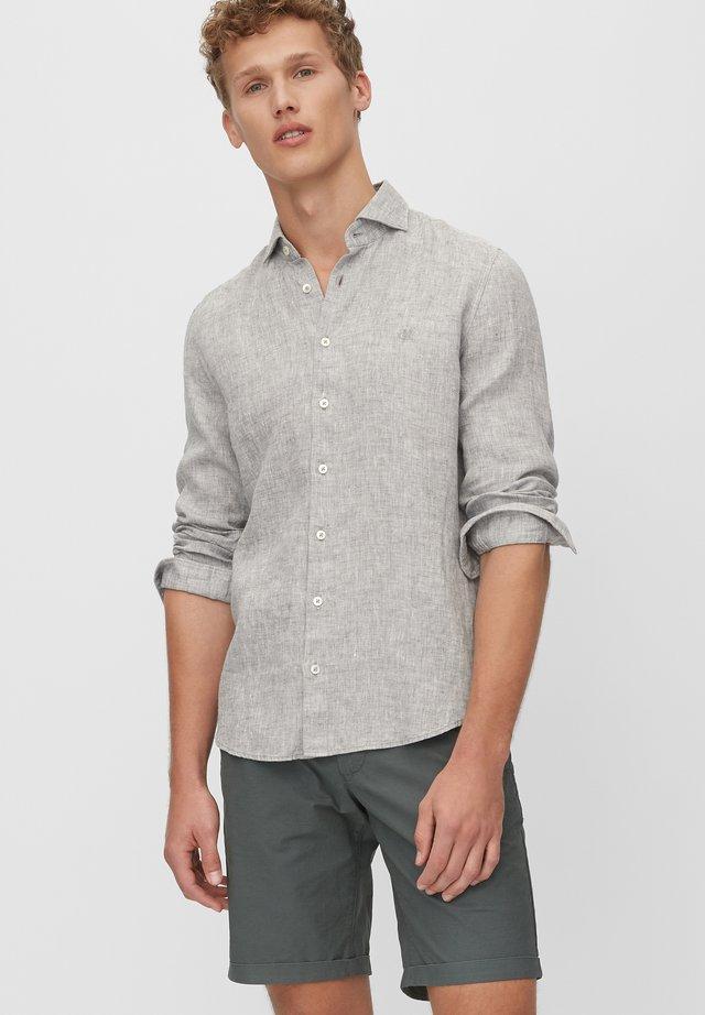 LANGARM-HEMD SHAPED - Koszula - grey