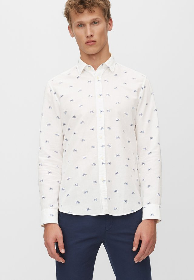 LANGARM-HEMD REGULAR - Koszula - multi/white
