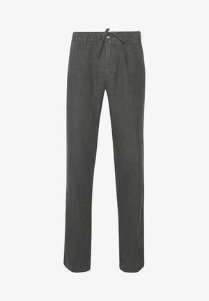 Spodnie materiałowe - anthracite
