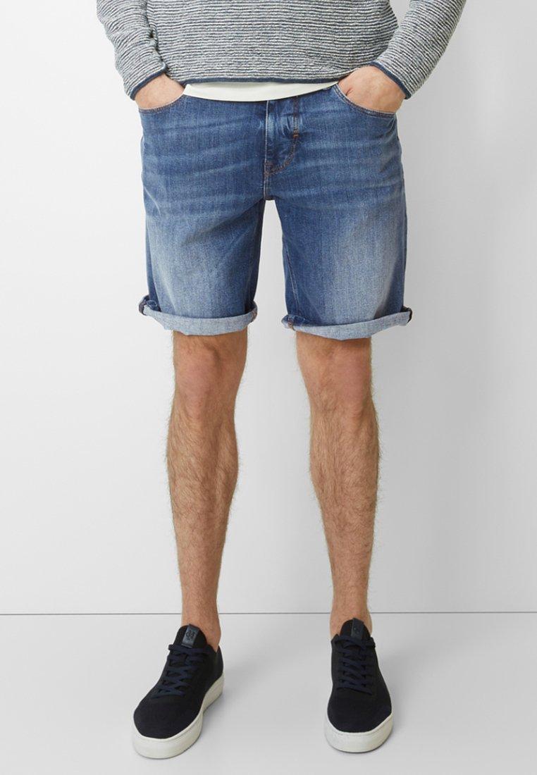 Marc O'Polo - HAMAR  - Jeans Shorts - blue