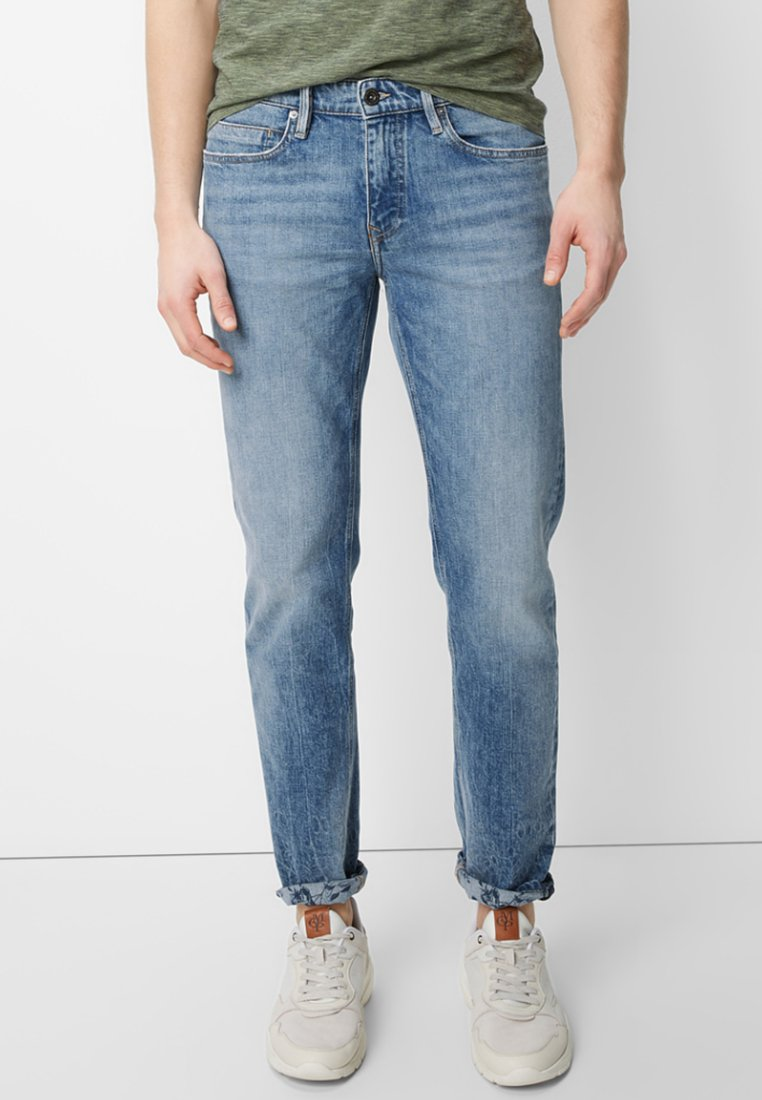 Marc O'Polo - SKEE - Jeans Tapered Fit - denim blue