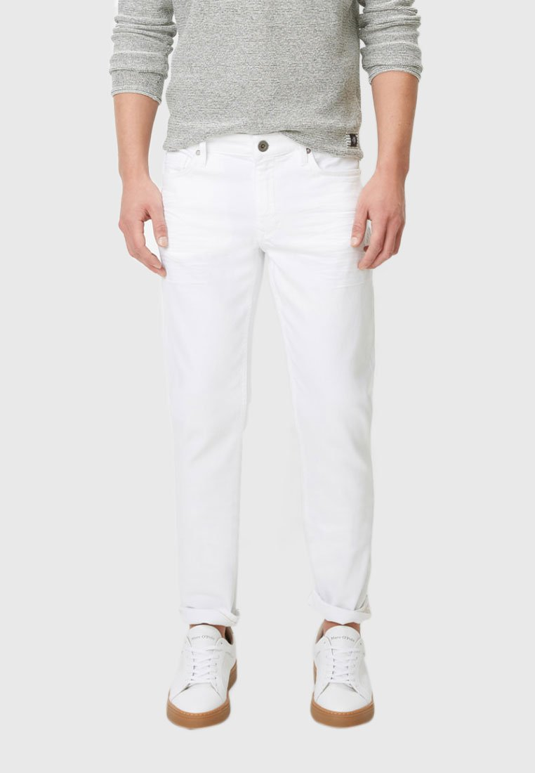 Marc O'Polo - SLIM FIT - Jeans Slim Fit - white