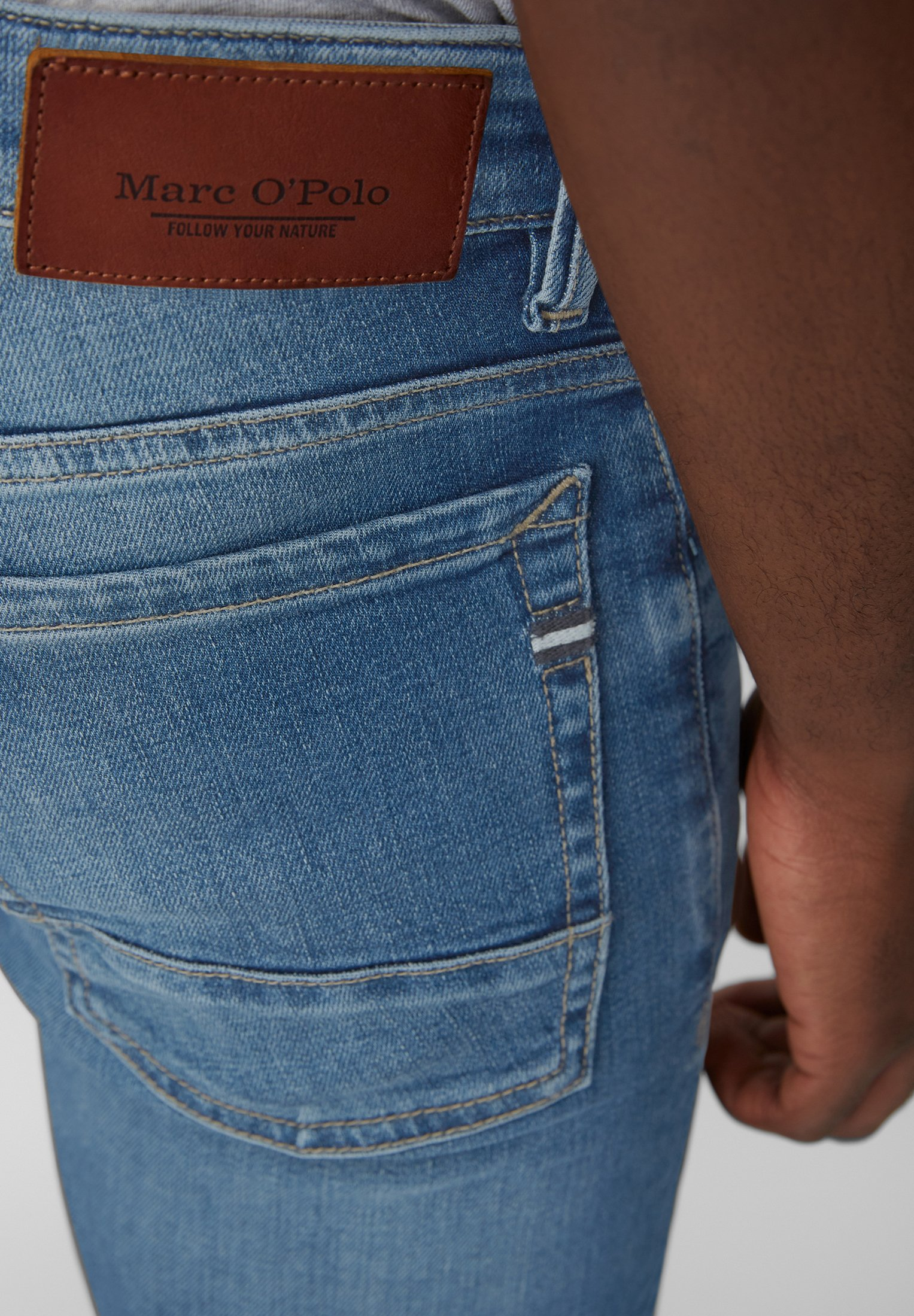 Marc O'polo Sjöbo - Slim Fit Jeans Blue I2AwRaV