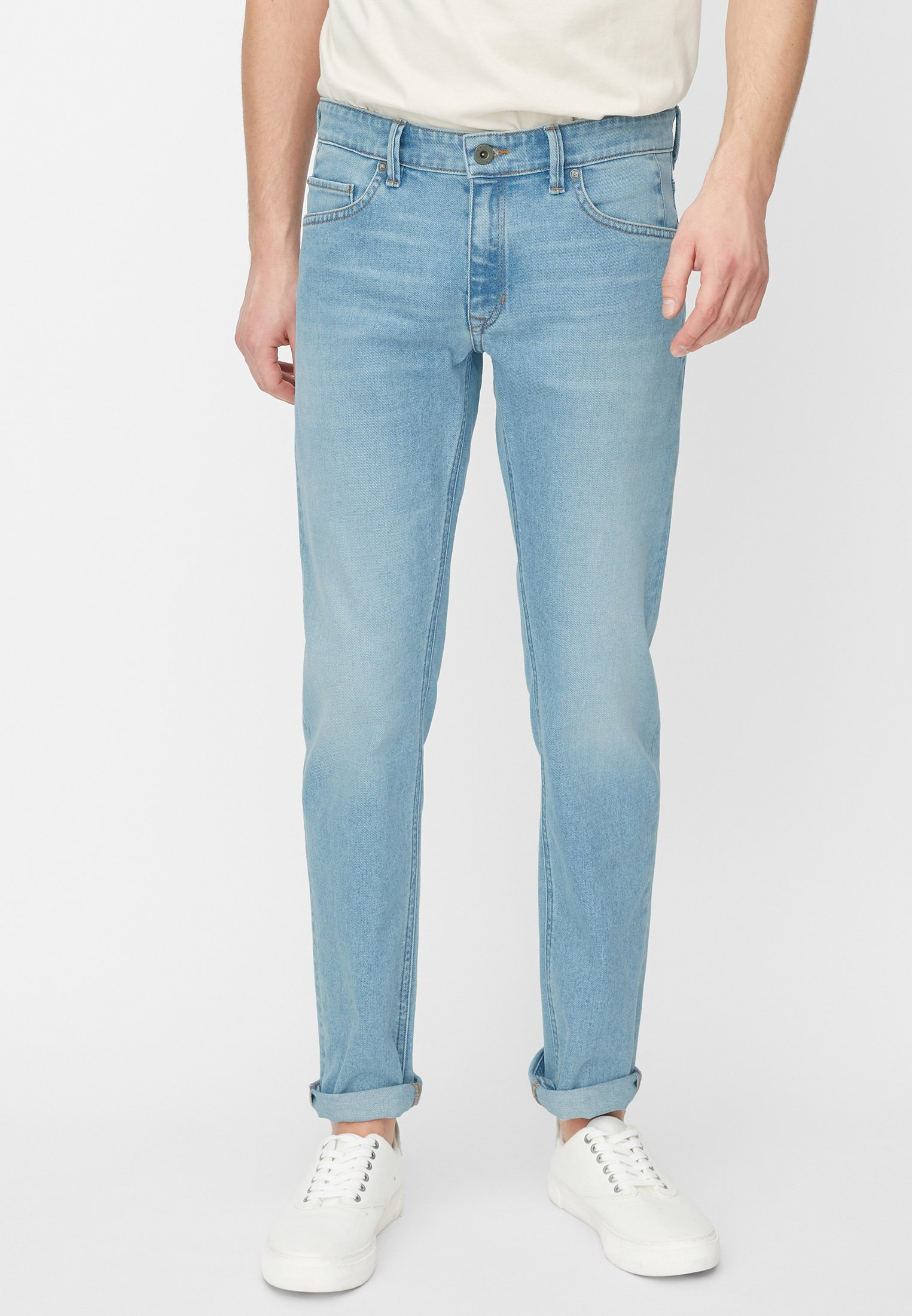 Marc O'Polo Jeansy Slim Fit - blue