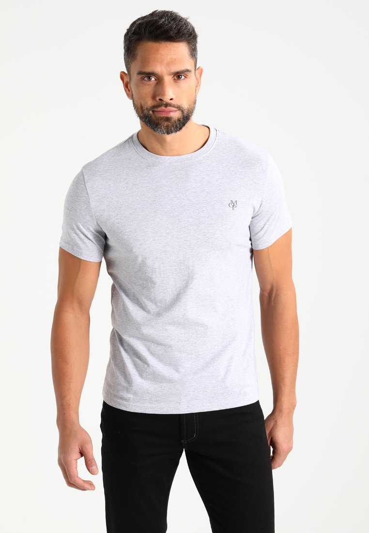 Marc O'Polo - C-NECK - T-shirts basic - grey
