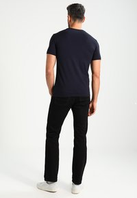 Marc O'Polo - C-NECK - T-paita - navy