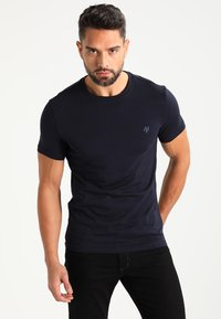 Marc O'Polo - C-NECK - T-paita - navy - 0