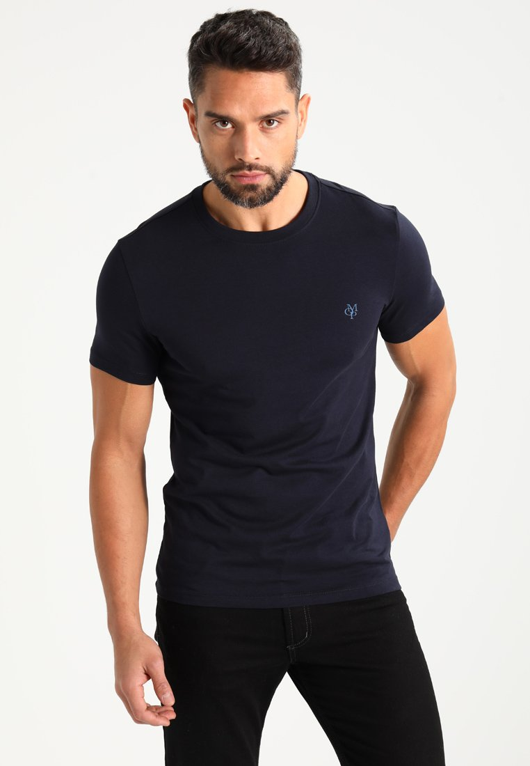 Marc O'Polo - C-NECK - T-shirt basic - navy