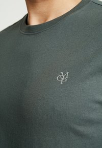 Marc O'Polo - C-NECK - T-Shirt basic - mangrove - 4