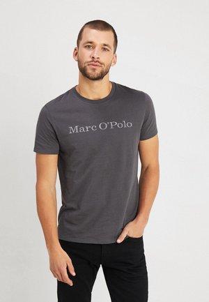 BASIC SINGLE - T-Shirt print - gray pinstripe
