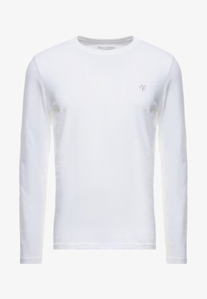 LONG SLEEVE ROUND NECK - T-shirt à manches longues - white