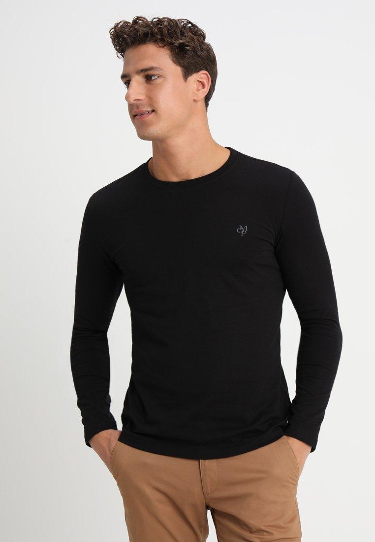Marc O'Polo - LONG SLEEVE ROUND NECK - Bluzka z długim rękawem - black