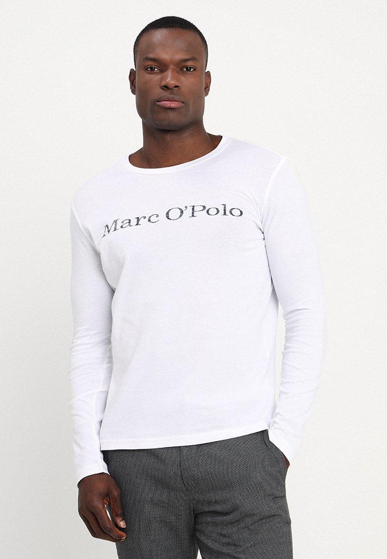 Marc O'Polo - LONG SLEEVE ROUND NECK - Langarmshirt - white