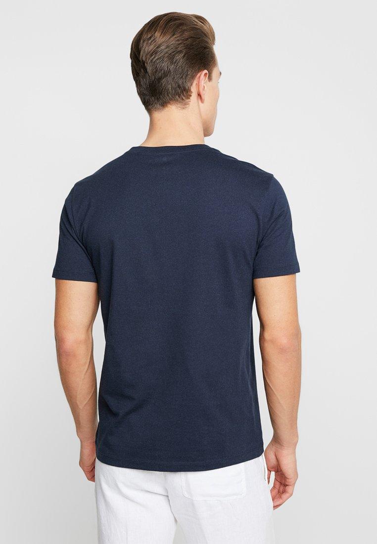 Marc Total shirt Imprimé Sleeve NeckT O'polo Eclipse Round Short 9D2IHE
