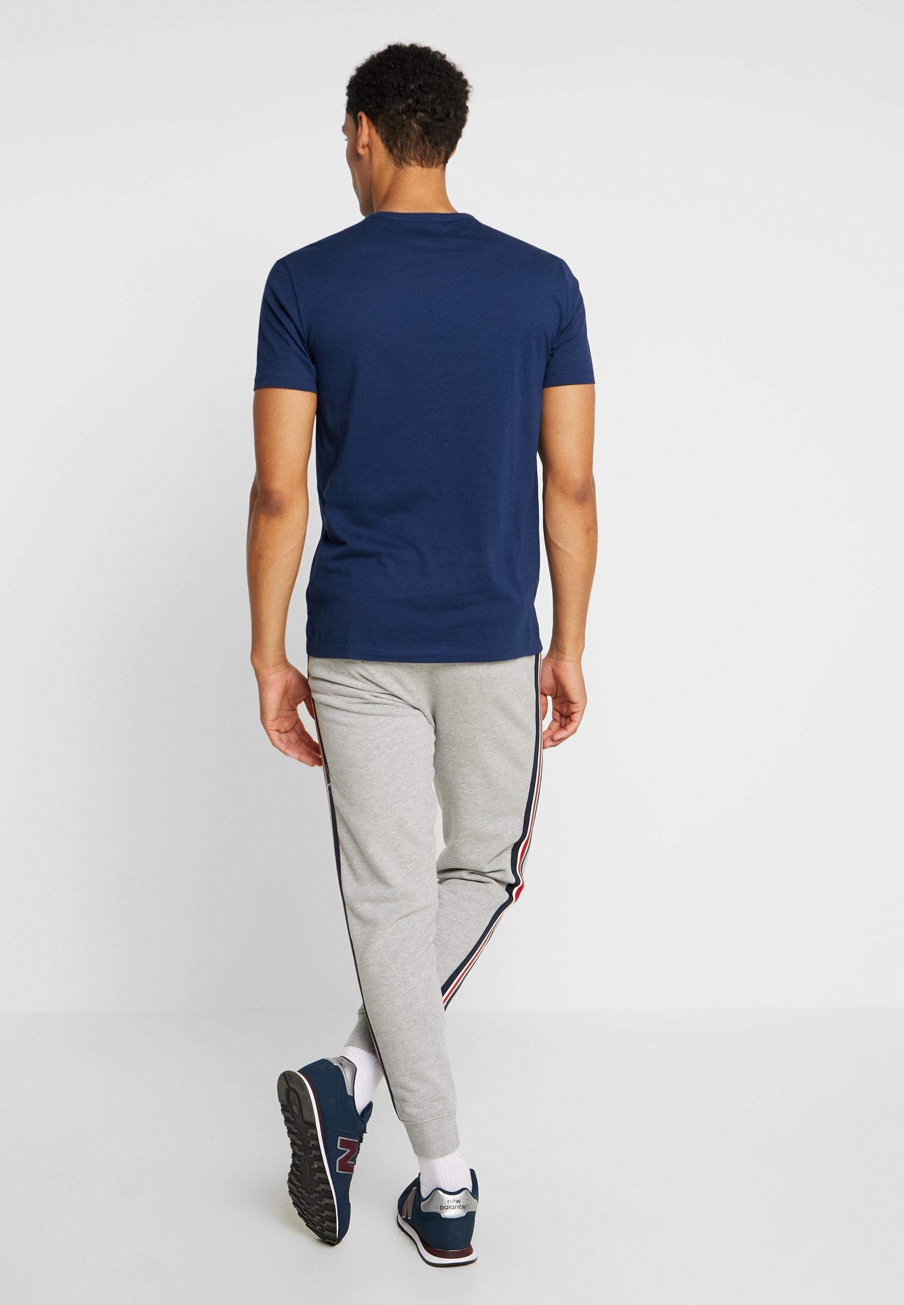 NECKT ROUND fjord Ox27;Polo SHORT SLEEVE print Marc Shirt blue OkiXPZu