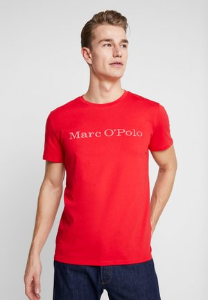 SHORT SLEEVE - Print T-shirt - chinese red