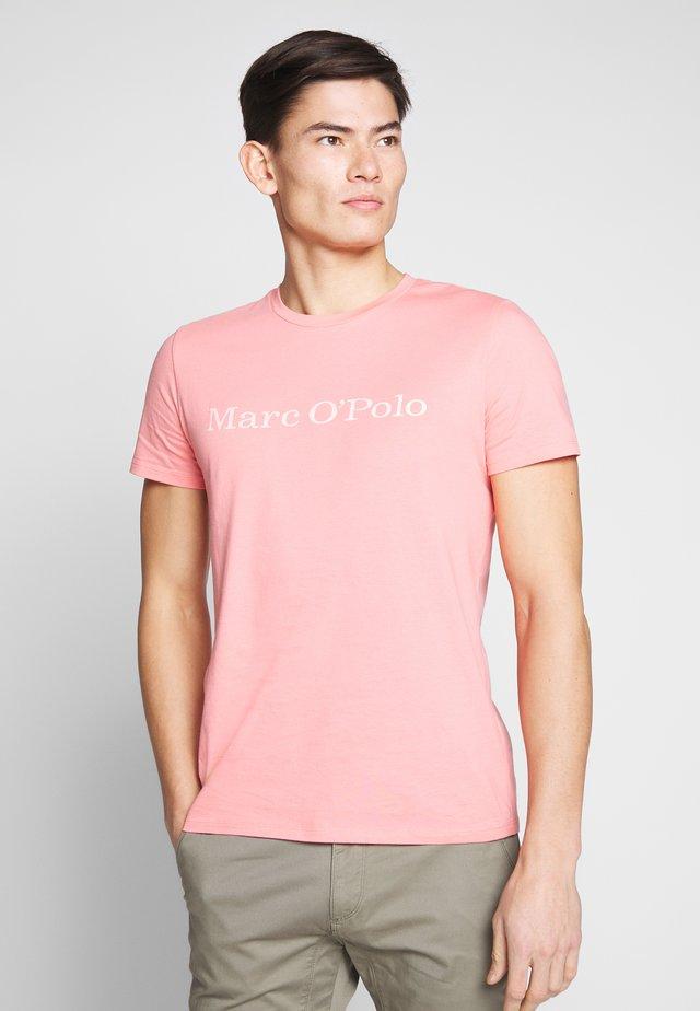 SHORT SLEEVE - T-shirt z nadrukiem - vintage rose
