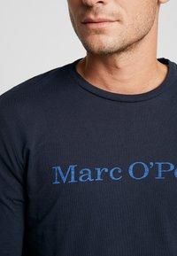 Marc O'Polo - LONGSLEEVE ROUND NECK - Bluzka z długim rękawem - total eclipse - 5