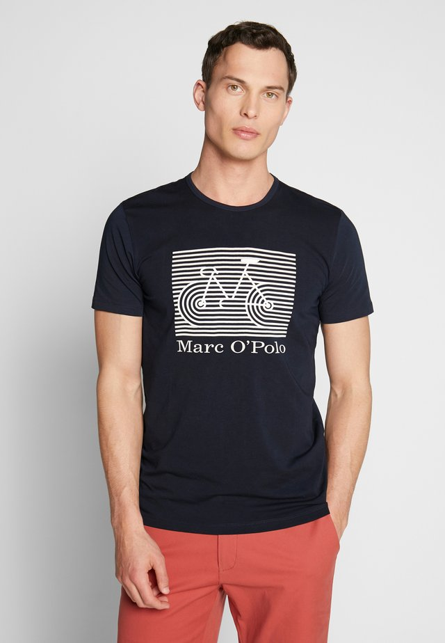 SHORT SLEEVE ROUND NECK - T-shirt imprimé - total eclipse