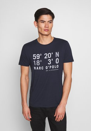 T-SHIRT, SHORT SLEEVE, CREW NECK, ARTWORK ON CHEST - T-shirt med print - total eclipse