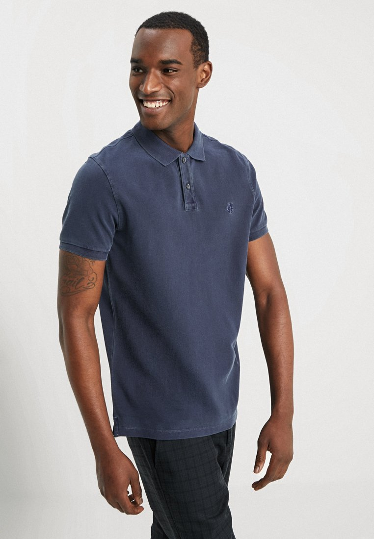 Marc O'Polo - SHORT SLEEVE - Polo shirt - total eclipse