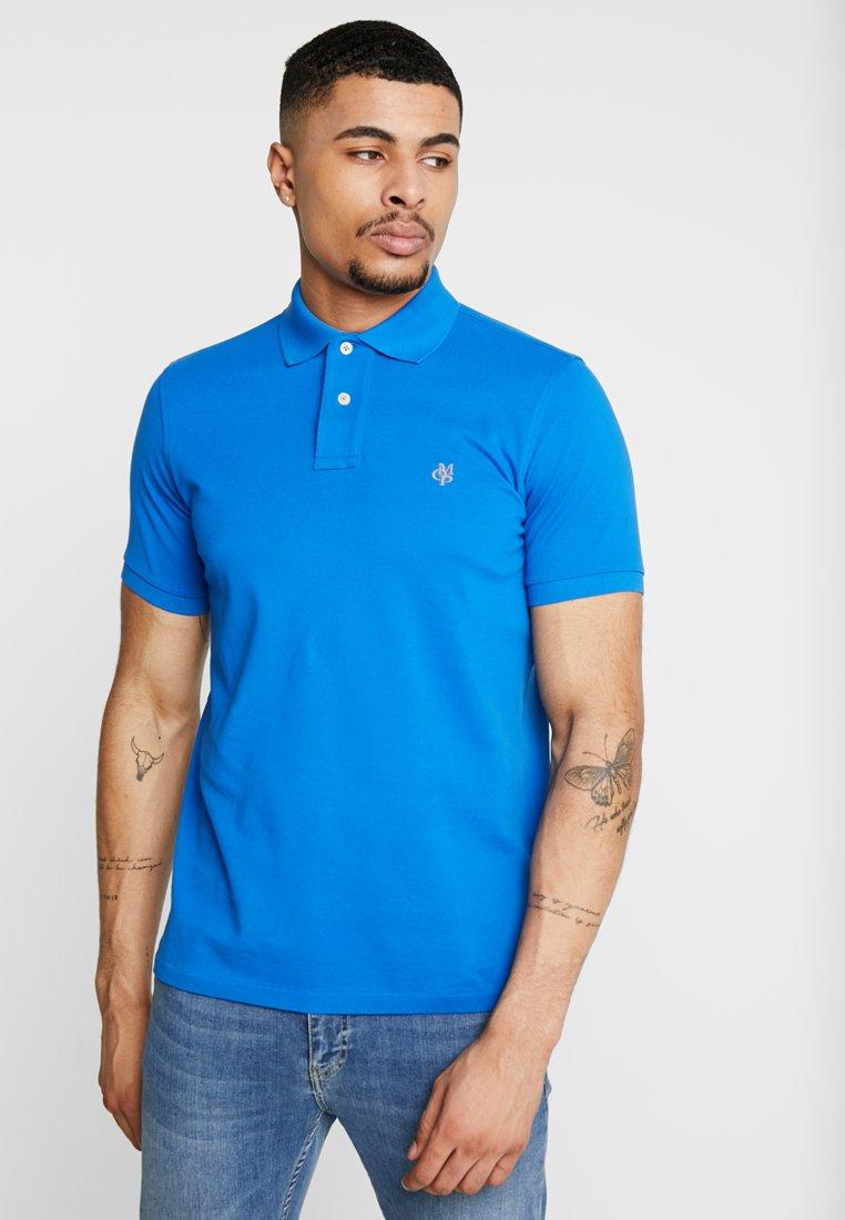 Marc O'Polo - SHORT SLEEVE RIB DETAILS - Poloshirt - victoria blue
