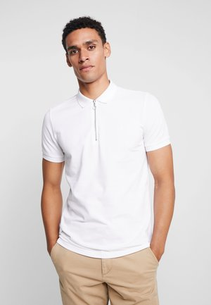 SHORT SLEEVE - Polo shirt - egg white