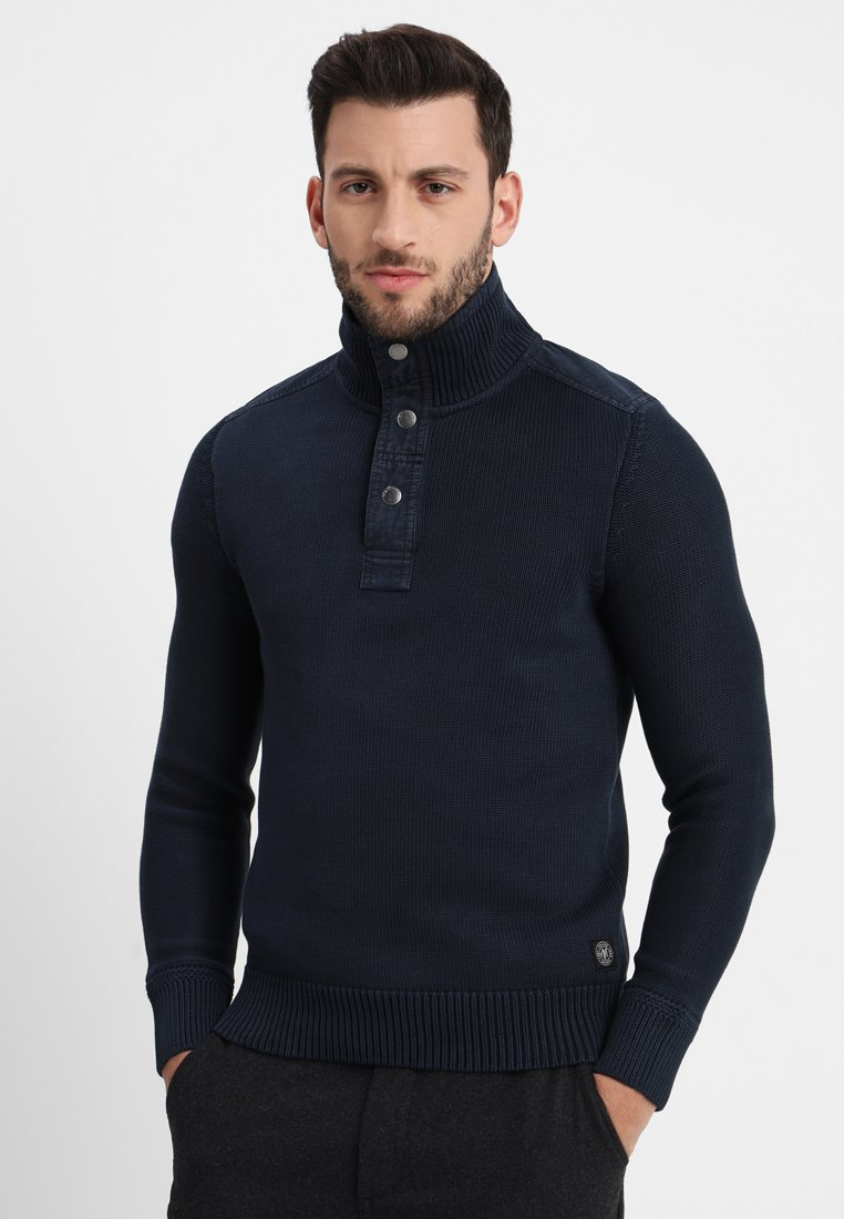 Marc O'Polo - TROYER - Strickpullover - total eclipse