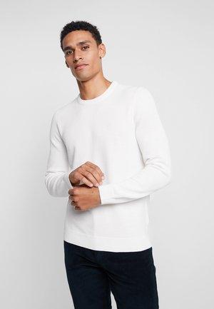 CREW NECK - Stickad tröja - vanilla ice