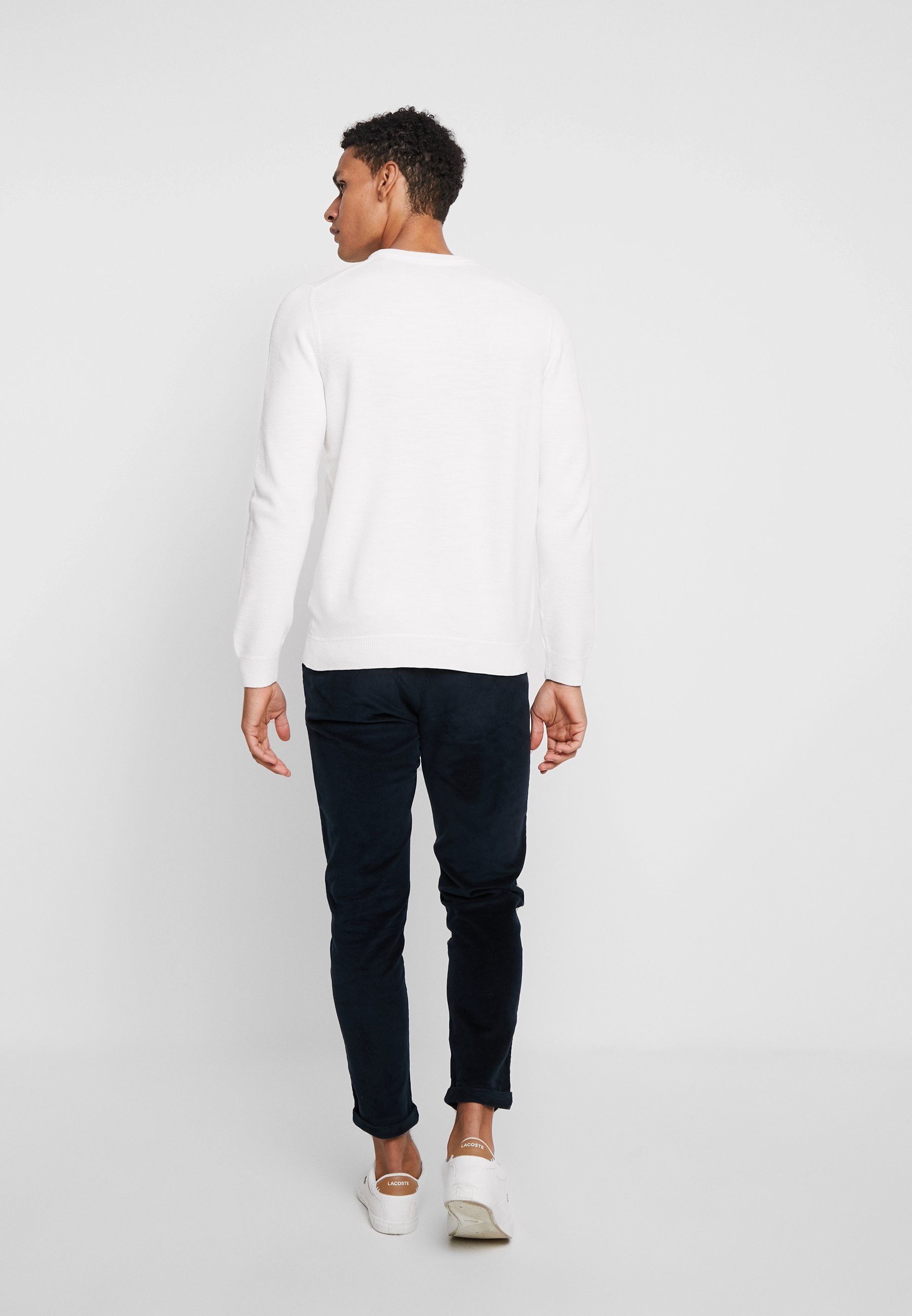 Marc O'Polo CREW NECK - Pullover - vanilla ice