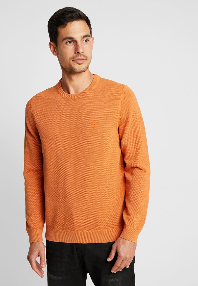 Marc O'Polo - CREW NECK - Sweter - brown