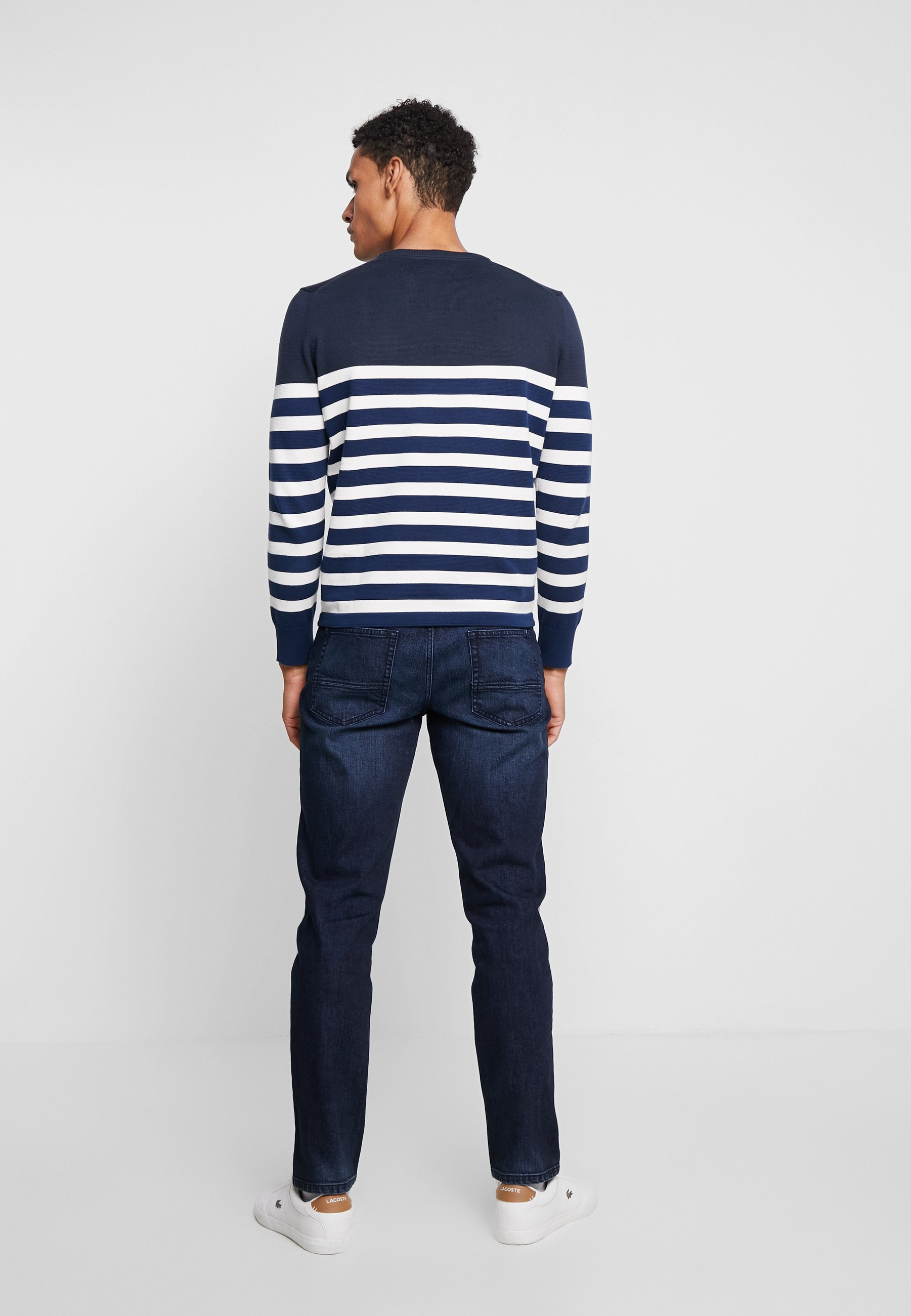 Neck Total Marc Crew StripePullover O'polo Eclipse wkXTiuOPZl